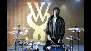 Wanwan - While She Sleeps - You Are We【Drum Cover】