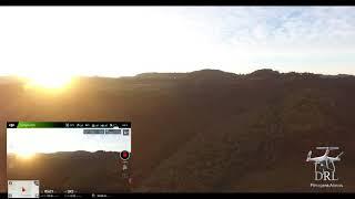 DJI Phantom 4 Com visão da tela