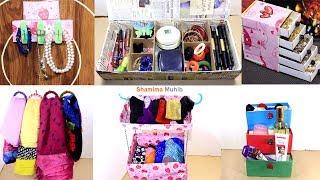 10 Cosmetics Organizer Idea/ 10 Makeup Storage/ 10 Organizer For Cosmetics/makeup Storage Life Hacks