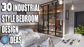 30 Industrial Style Bedroom Design Ideas