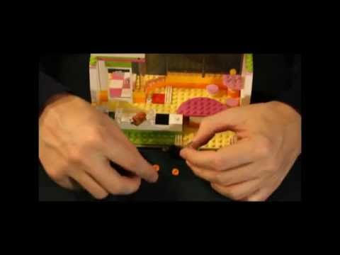Vidéo LEGO Friends 41035 : Le bar à smoothie de Heartlake City