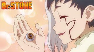Dr. Stone Episode 23 English Sub | Crunchyroll Clip: Zinc-Carbon Battery Rap
