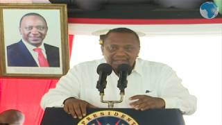 President Kenyatta addresses security leaders in Mombasa