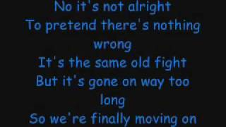 Faber Drive - Our Last Goodbye Lyrics