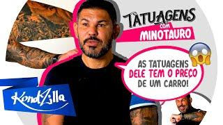"""Tatuagens com Minotauro – """"O ÚNICO CARA A TATUAR A EX NAMORADA NO BRAÇO"""""""