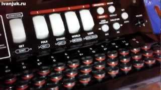 Электронная (цифровая) гармонь Roland FR-18 (обзор - 1 часть)