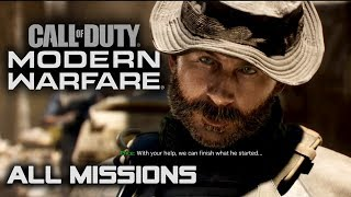 Call of Duty: Modern Warfare - All Missions - Full Game Walkthrough (1080p 60fps)