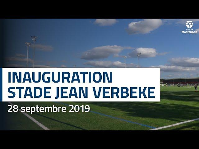 Inauguration du stade Jean Verbeke