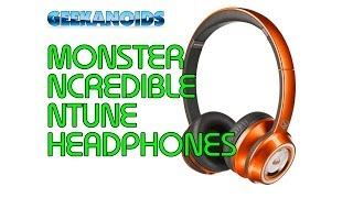 Monster N-Tune Candy Headphones Review @curryspcworld @MonsterProducts