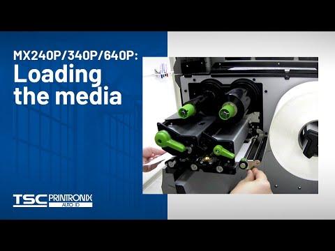 TSC MX240P Industrial Barcode Printer