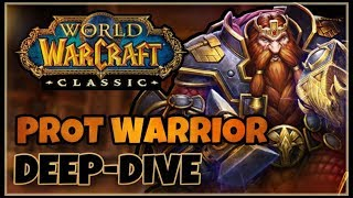 Classic Vanilla WoW PROTECTION Warrior Deep-Dive with Skarm | Classic WoW Prot Warrior Guide
