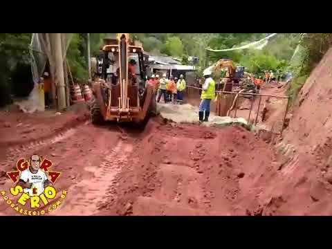 Morador relata em Videocelular o descaso do Consórcio Construtor São Lourenço com a População