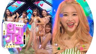 OH MY GIRL(오마이걸)   BUNGEE(Fall In Love) @인기가요 Inkigayo 20190818