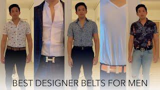 BEST DESIGNER BELTS FOR MEN — Hermès, Louis Vuitton, Gucci | UNBOXING & FIRST IMPRESSIONS