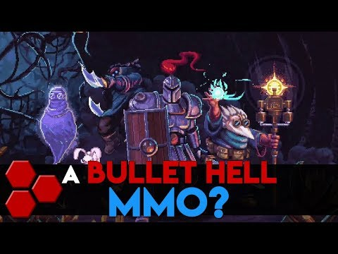 A Bullet Hell MMO? - Survived By - First Impressions - TheHiveLeader