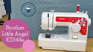 Kindernähmaschine Brother Little Angel | Einführung | Review | Einfädeln | Fingerschutz | Knopfloch