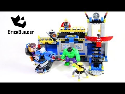 Vidéo LEGO Marvel 76018 : La destruction du labo