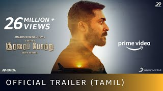 Soorarai Pottru - Official Trailer | Suriya, Aparna | Sudha Kongara|GV Prakash|Amazon Original Movie
