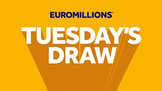 The National Lottery 'EuroMillions' draw results from Tuesday 11th August 2020 Advert