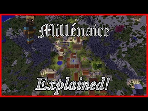 Millenaire Explained: Ep 1, General Gameplay with the Normans - Minecraft Modded