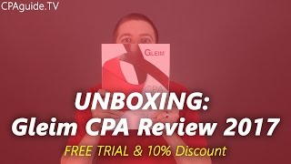 Unboxing becker cpa review 2017 cpa guide tv ep 10 most unboxing old version gleim cpa review course 2016 cpa guide tv fandeluxe Image collections