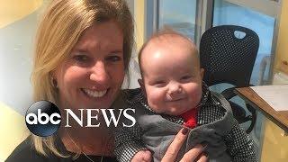 Nurse adopts sweet baby she cared for in pediatric ICU l GMA Digital