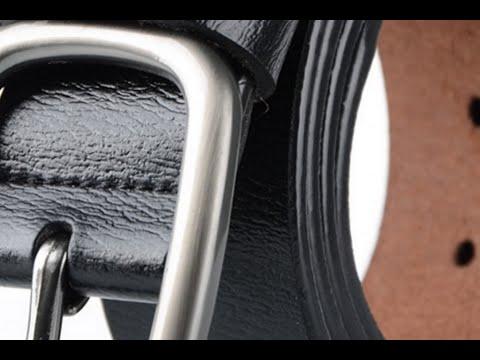 Тест 100% кожаного ремня из Китая | Test 100% leather belt from China