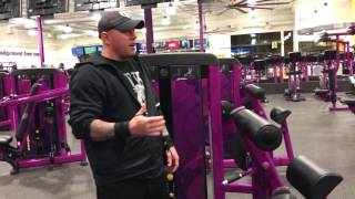 Planet Fitness Back Extension Machine - How to use the back extension machine at Planet Fitness