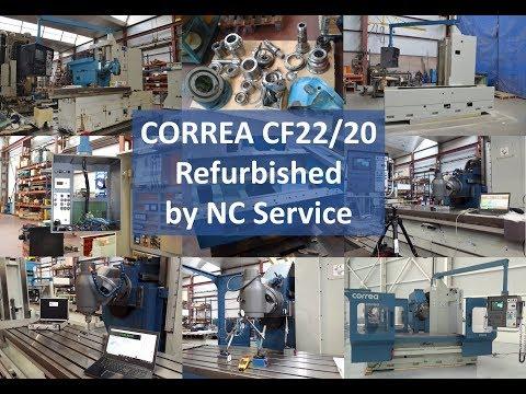 Retrofit der CORREA CF22/20 durch NC Service