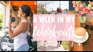 MY HEALTHY & FIT LIFE! A Week In My Workouts!