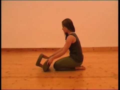 i-om Meditationshocker benutzen