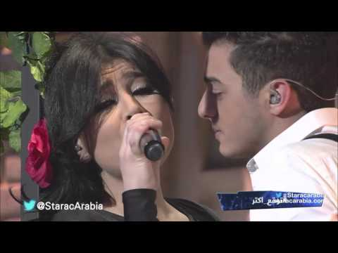 حنان الخضر و رافاييل جبور - بعشق روحك - البرايم 10 من ستار اكاديمي 11