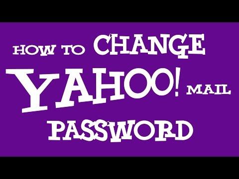 How To Change Yahoo Password | Change Yahoo Mail Password 2018 - NEW!!!