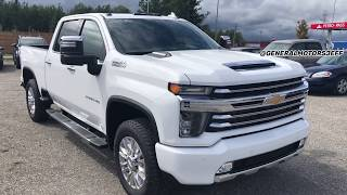 ALL NEW, 2020 Chevrolet Silverado 2500HD Duramax High Country