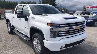 ALL NEW, 2020 Chevrolet Silverado 2500HD Duramax High Country