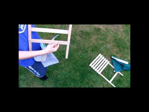 Bauanleitung für den Liegestuhl
