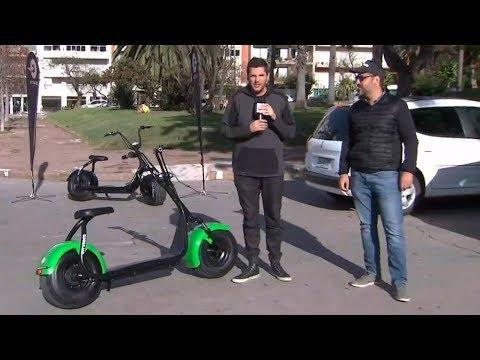 Una nueva experiencia de transporte: Seba prueba un monopatín eléctrico