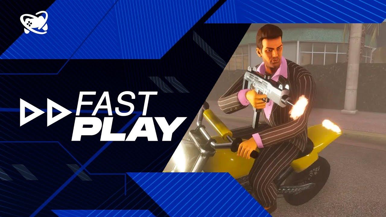 Fast Play (22/10): GTA: The Trilogy chega em novembro custando R$ 300,00 e mais