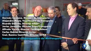 Miniatura Video Inauguración cicloparqueadero en Mintransporte Colombia
