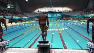 London 2012 - PS3 - PlayThrough Hard - Day 3 - Swimming