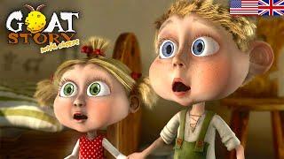 Goat story 2 with Cheese | Full Animaton Movie | English Family Cartoon | Free Animated movie