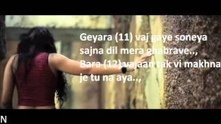 BOHEMIA - Lyrics of 'Adhi Rati' by 'Jasmine Sandlas' ft