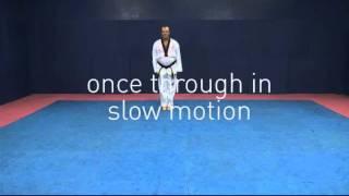 Taekwondo Pattern #1 Il Jang Yellow Belt