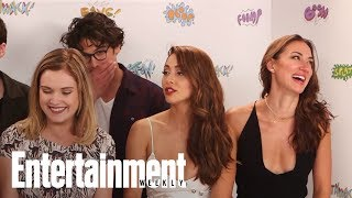 The 100 cast - 21/07/17 - SDCC 2017