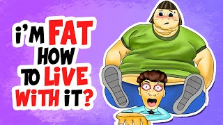 I'm the FATTEST GIRL in School! How to live with it? | Storytime