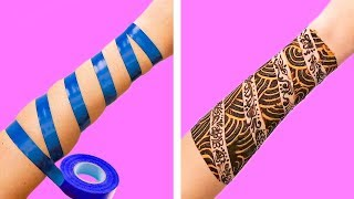 15 SIMPLE AND COOL HENNA IDEAS FOR SUMMER