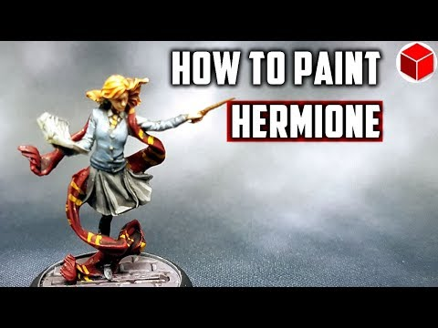 How To Paint Hermione Granger - Harry Potter Miniatures Adventure Game