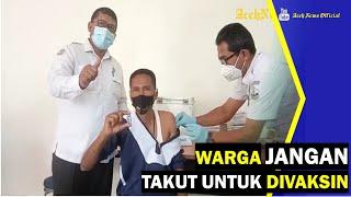 VIDEO - Jurnalis Bireuen Minta Warga Jangan Takut Disuntik Vaksin