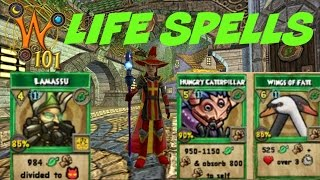 Wizard101: All Ice Spells Level 1-120 (2017) - Most Popular