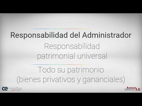 Bienes gananciales del administrador, pago IAE 2016 y base autónomos